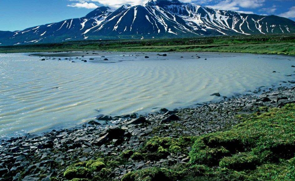 På denne rejse opleves Islands utrolige landskab, herunder det høje Snæfell, øverst, og højlandområdet øst for Landmannalauger.