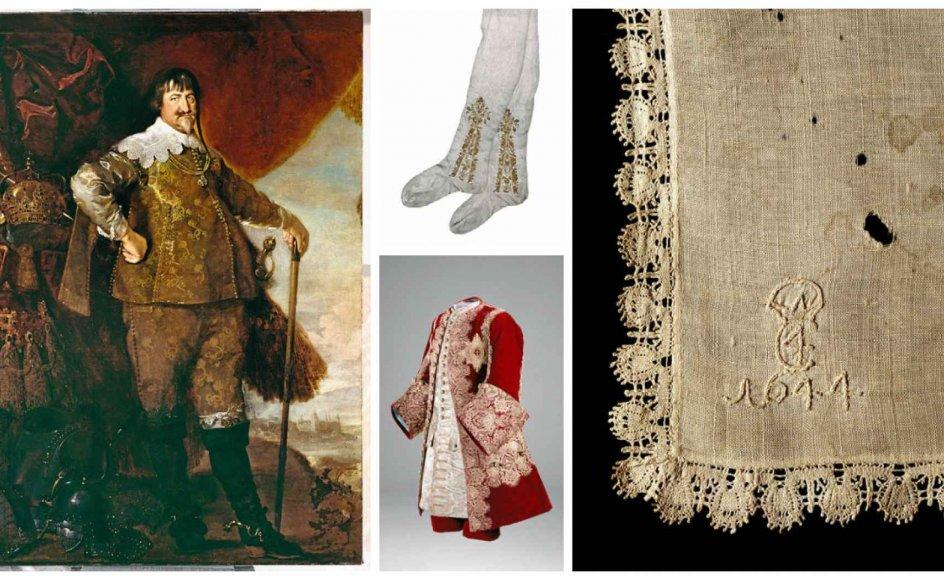 Kongens garderober afslører uhyggelige mængder silke, der vidner om en blodig og svedig tid.