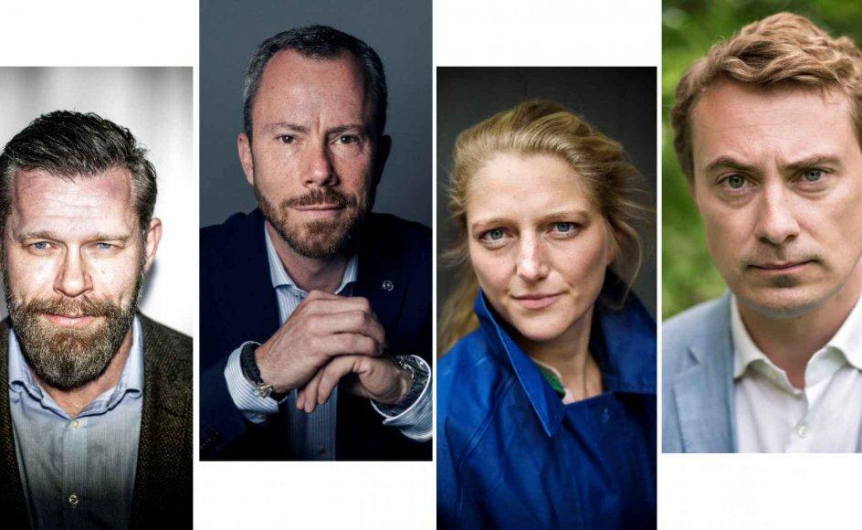 Politisk kommentator Joachim B. Olsen, Venstre-formand Jakob Ellemann-Jensen, De Radikales Zenia Stampe og DF-næstformand Morten Messerschmidt har alle knyttet en kommentar til beslutningen om at lade Inger Støjberg (V) komme for en rigsret.