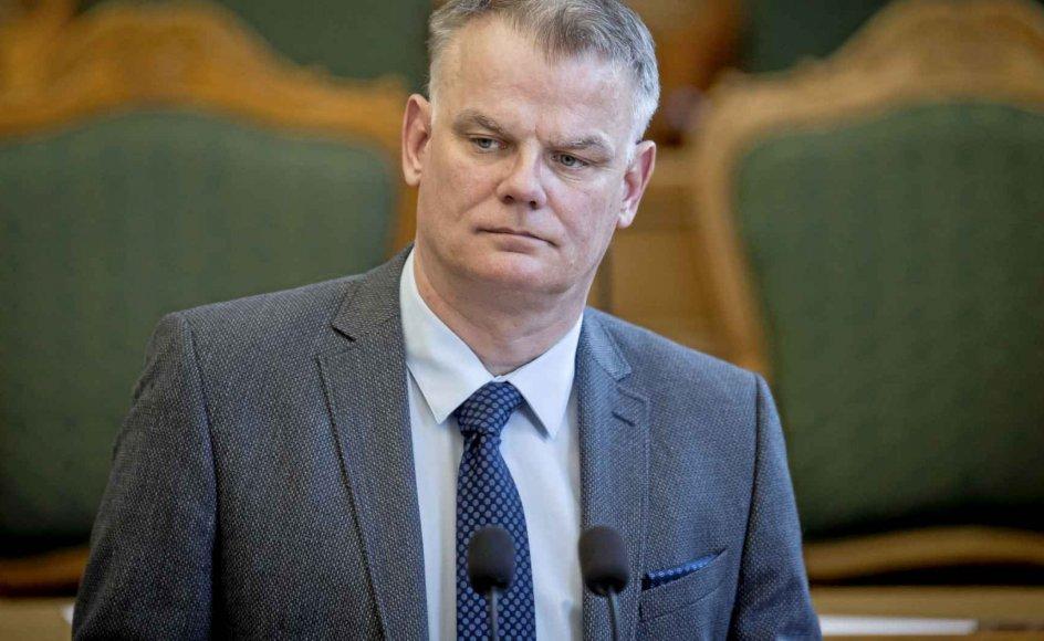 Christian Langballe (DF) finder det overraskende, at Jakob Ellemann-Jensen ikke støtter Inger Støjberg. – Arkivfoto: Mads Claus Rasmussen/Ritzau Scanpix.