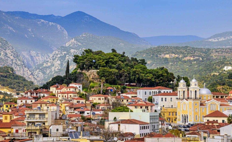 En læserejse til kystbyen Kardamili i Grækenland byder på særpræget arkitektur, billedskønne landskaber og ikke mindst sæsonens olivenhøst.