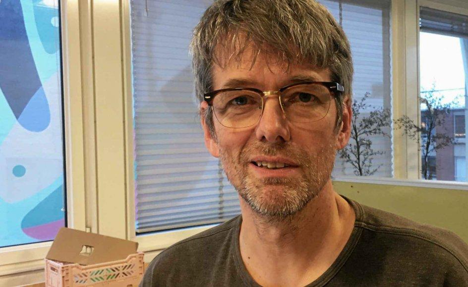 Kurt Rønne er ny konstitueret rektor på Hovedstadens Kristne Gymnasium, der holder til i Vanløse i København. – Privatfoto.