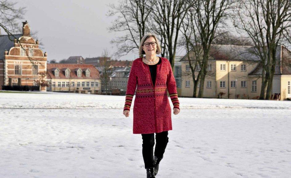 Mona Østergaard Klit er underviser på sygeplejerskeuddannelsen og nyvalgt til menighedsrådet i Thisted Kirke. – Foto: Henning Bagger/Ritzau Scanpix.