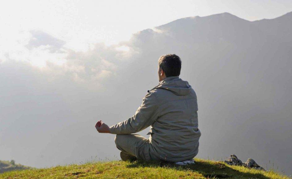 De praktiske øvelser i mindfulness-meditation er ikke nødvendigvis forbundet med en bestemt livsholdning eller tro. Meditationsteknisk forekommer de samme ting også i blandt andet kristen meditation. – Foto: Benis Arapovic/Panthermedia/Ritzau Scanpix.