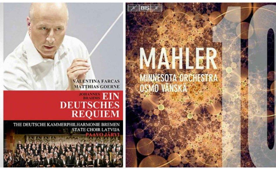 """""""Det lyder langt hen ad vejen som ægte Mahler"""" og """"man kan trygt aflægge dette virtuelle besøg i den gamle hansestads katedral"""". Sådan skriver Peter Durrfeld om to klassiske cd'er."""