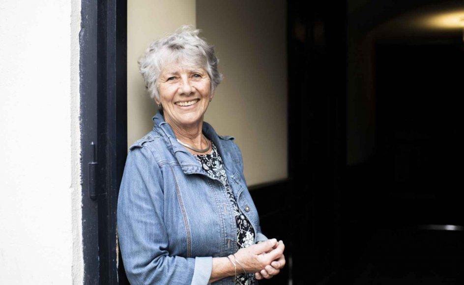 Margrete Auken, der er medlem af Europa-Parlamentet for SF og pensioneret sognepræst, blev opereret i hoften tre gange sidste år. Hun priser sig lykkelig for, at det skete på et tidspunkt, hvor hun alligevel skulle holde sig lidt i ro. – Arkivfoto: Iben Gad.
