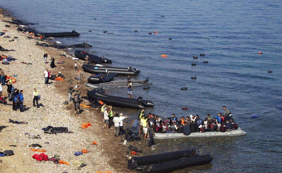 Agenturets direktør, Fabrice Leggeri, blev i torsdags grillet bag lukkede døre i Europa-Parlamentet af et særligt undersøgelsesudvalg, der skal se nærmere på beskyldningerne om, at Frontex ser passivt til eller endog medvirker aktivt, når nationale grænsevagter skubber flygtninge tilbage. (Arkivfoto).