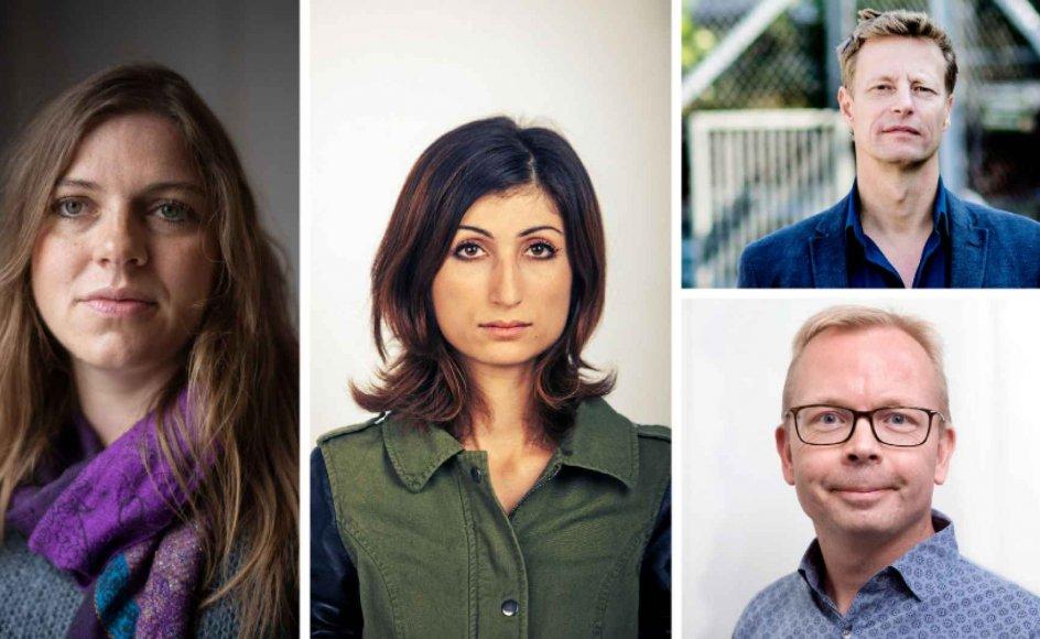 Kristeligt Dagblad har bedt fire danske debattører forholde sig til Sarah Everard-sagen og angsten for at færdes alene om natten som kvinde.