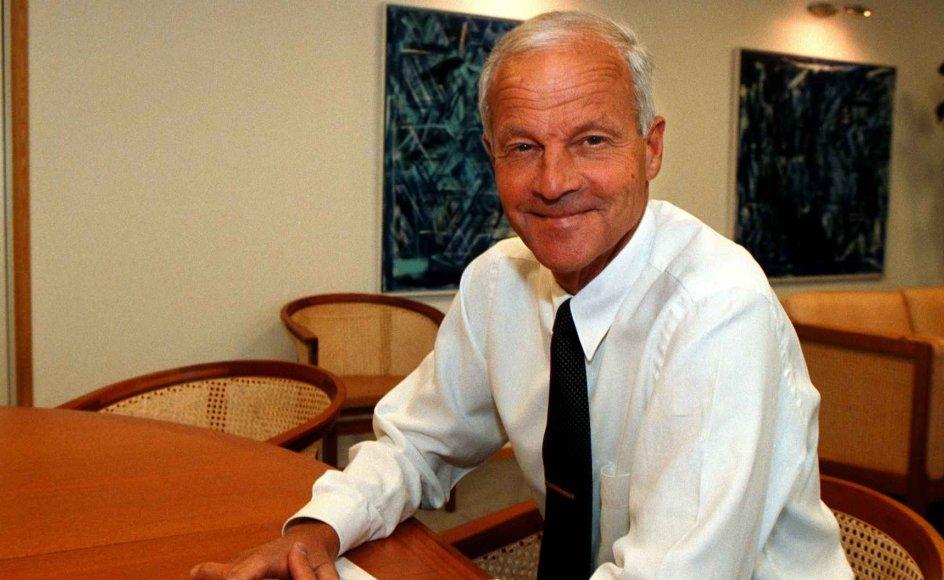 André Lublin var øverste direktør i PFA Pension i 16 år. Søndag døde han i en alder af 80 år. (Arkivfoto)
