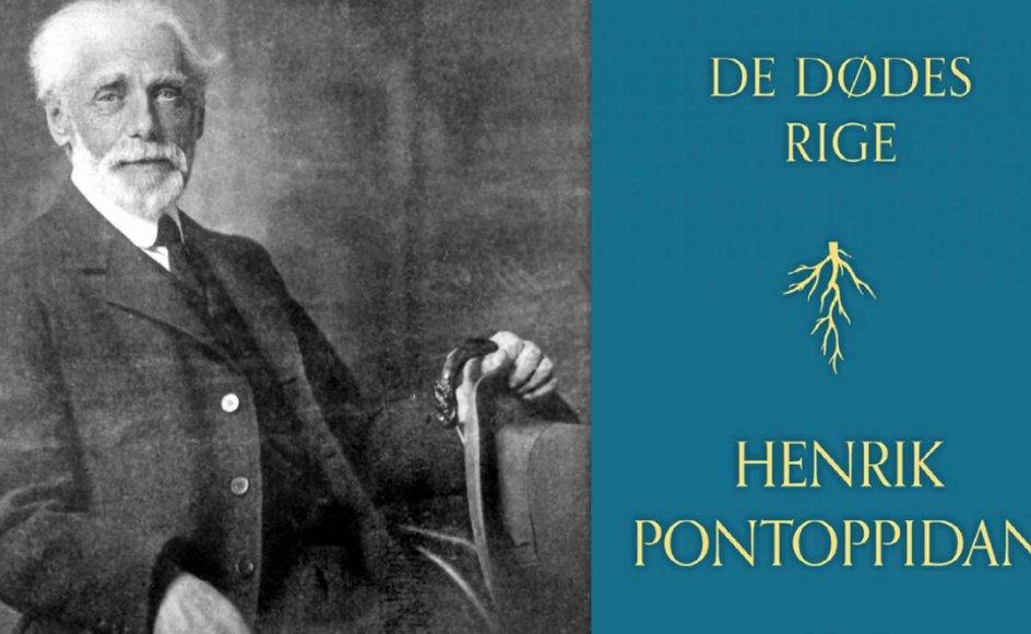 """Henrik Pontoppidan (1857-1943) lykkes i """"De dødes rige"""" med at kombinere den historiske roman med evige problemer for dermed at undersøge, hvad der forgår – og hvad der består – i de flammer, alle længes mod. – Foto: Ritzau Scanpix."""