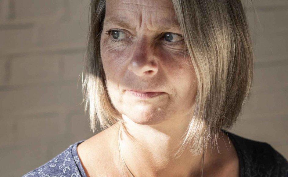 Rikke Holm er forstander på Askov Højskole i Sydjylland. – Foto: Julie Meldhede Kristensen.