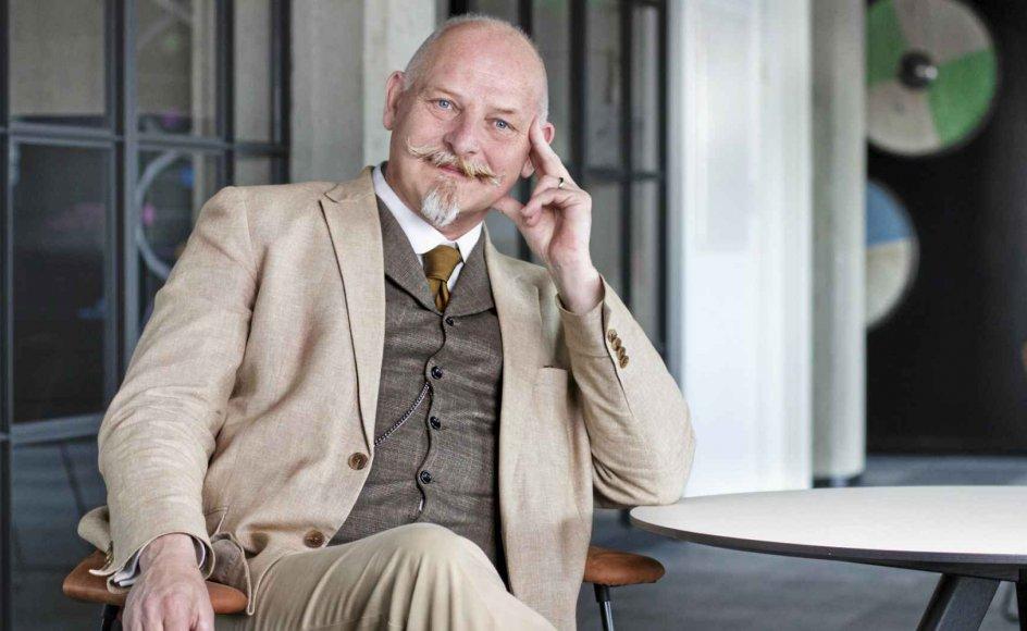 """""""Folk var usandsynligt kreative for at kunne få lov at udleve deres lyster"""", fortæller bogaktuelle historiker Kåre Johannessen. Foto: Forlaget Textur"""
