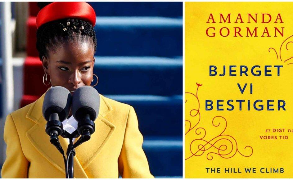 """Amanda Gorman (født 1998) blev verdenskendt, da hun i januar læste op af sit digt """"The Hill We Climb"""" ved præsident Bidens indsættelsesceremoni."""
