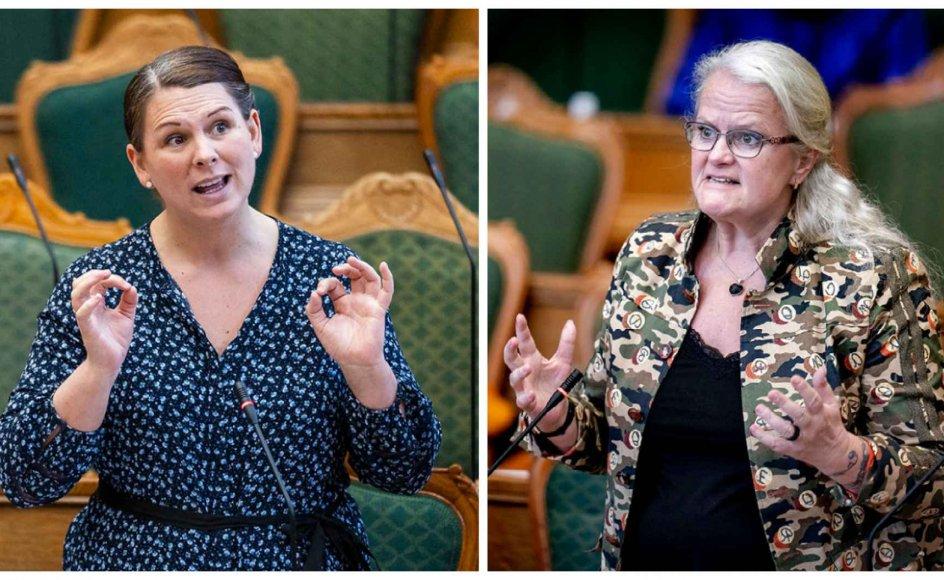 De Konservatives ældreordfører, Mette Abildgaard, og Liselotte Blixt, sundhedsordfører for Dansk Folkeparti, vil fremrykke genåbningsplanen, så ældre vaccinerede kan nyde friheden noget før.