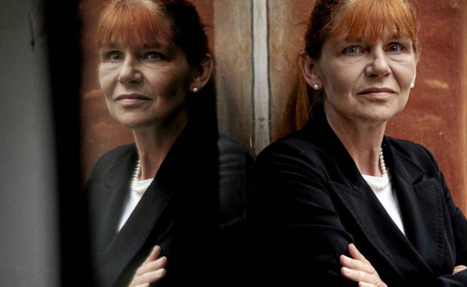Rektor og professor i universitetspædagogik ved Roskilde Universitet Hanne Leth Andersen (født i 1962) håber, at vi efterfølgende kan bruge det, vi har lært under pandemien, i klimakampen. – Foto: Linda Kastrup/Ritzau Scanpix.