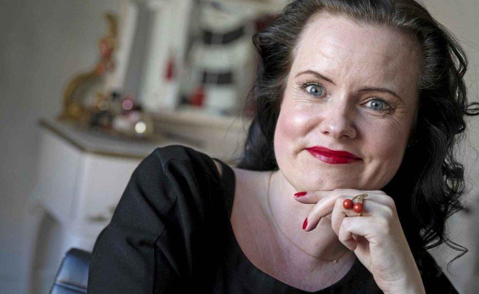 """Leonora Christina Skovs nye roman, """"Hvis vi ikke taler om det"""", har allerede inden sin udgivelse tiltrukket sig stor opmærksomhed. – Foto: Leif Tuxen."""