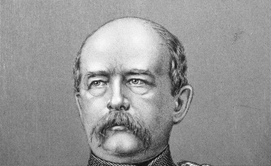 Preussens ministerpræsident Otto von Bismarck drømte om at forene de sydtyske og nordtyske stater i en stor fælles nationalstat, men Østrig og Frankrig udgjorde hindringer for hans planer. Derfor førte han krig først mod Østrig i 1866 og fire år senere mod Frankrig. – Foto: Georgios Kollidas/Panthermedia/Ritzau Scanpix