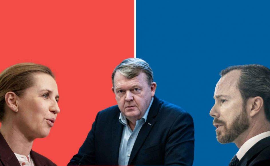 Siden valgkampen i 2019 har det været tidligere venstremand og tidligere statsminister Lars Løkke Rasmussens kongstanke: At Venstre og Socialdemokratiet skulle gå sammen i en ny regering for at holde yderfløjene væk fra indflydelse.