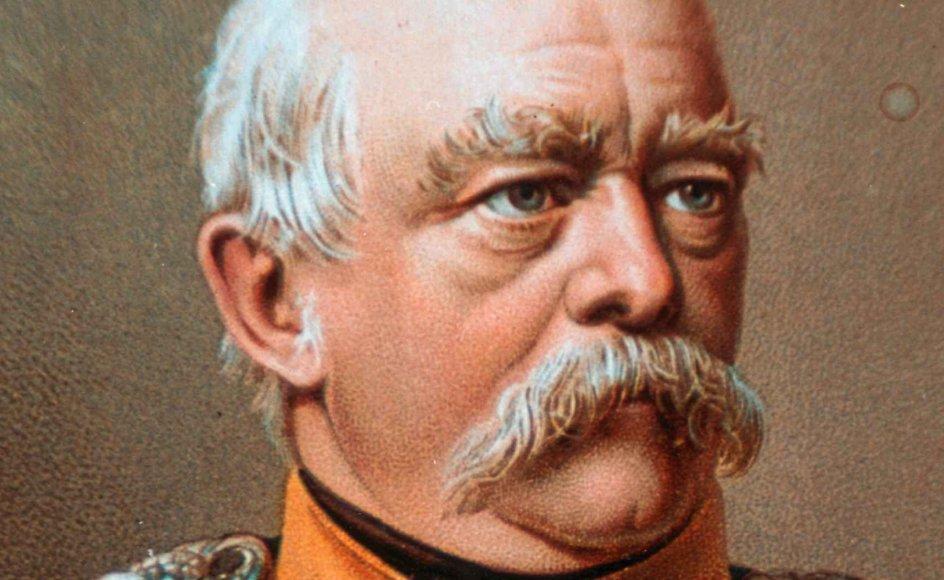 Tyskerne har i bedste fald et tvetydigt forhold til Bismarcks periode, sagde den tyske præsident Frank-Walter Steinmeier (S) ved et mindearrangement i år med henvisning til den militære historiske arv, som den ekspansivt tænkende landsmand stod for. – Foto: Keystone/BMGT/Ritzau Scanpix.