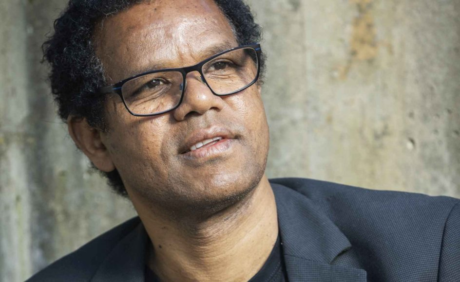 Kidane Amare er diakon i og leder af den etiopisk-ortodokse menighed, der holder til i Helligåndskirken i det vestlige Aarhus. – Foto: Flemming Jeppesen/Fokus.