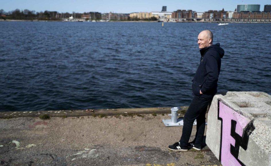 """""""Hvis man gennemfører de ting, jeg foreslår, så vil det ændre fuldstændig radikalt på de økonomiske magtforhold og gøre os i stand til at føre en politik, der ser fuldstændig anderledes ud end i dag"""", siger Enhedslistens Pelle Dragsted, som er aktuel med debatbogen """"Nordisk Socialisme"""". – Foto: Mikkel Møller Jørgensen."""