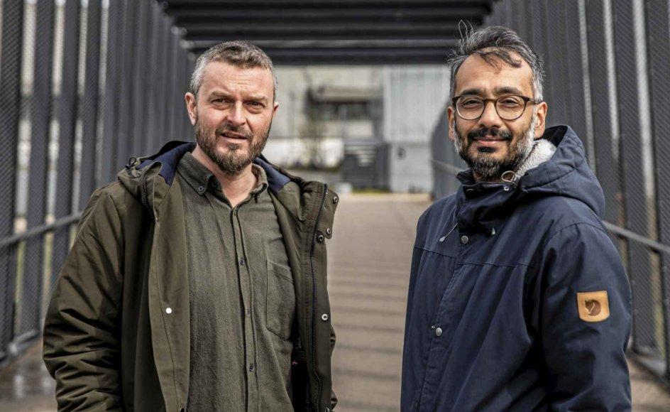 Et nyt muslimsk manifest har været fem år undervejs og er skrevet af islamologen Kasper Mathiesen og imamen Naveed Baig.  – Foto: Olafur Steinar Rye Gestsson/Ritzau Scanpix.