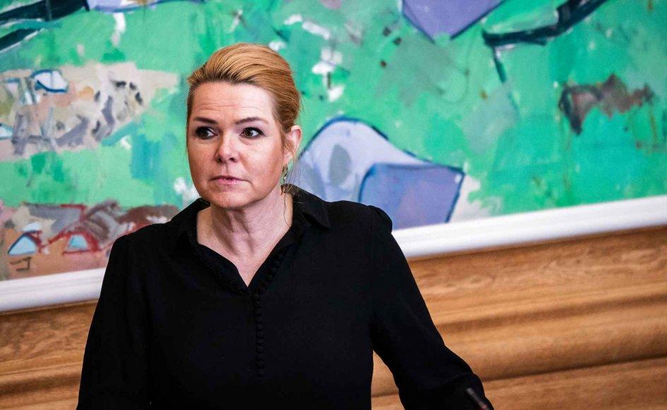 En ny delberetning, der vedrører embedsværket, kan være fordelagtigt for tidligere minister og nu løsgænger, Inger Støjberg.