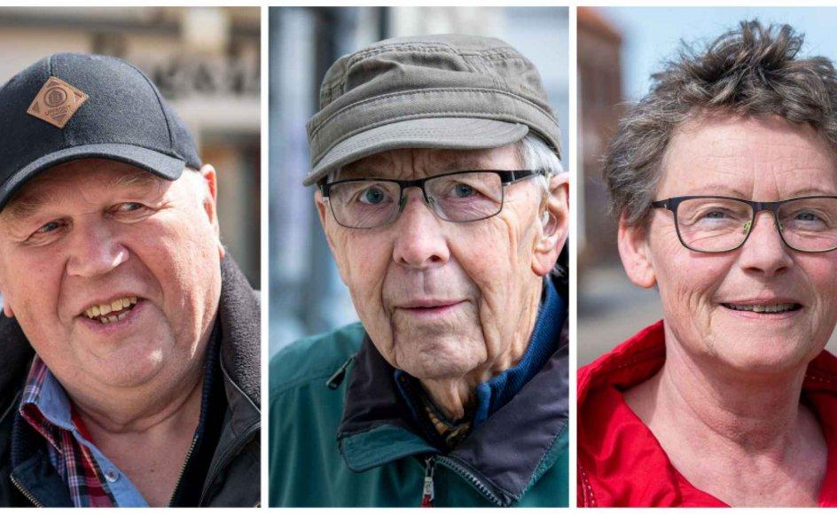 Vagn Olesen, Hans Særkjær og Mona Mortensen er blandt de kristendemokrater, som Kristeligt Dagblad har mødt på gaden.