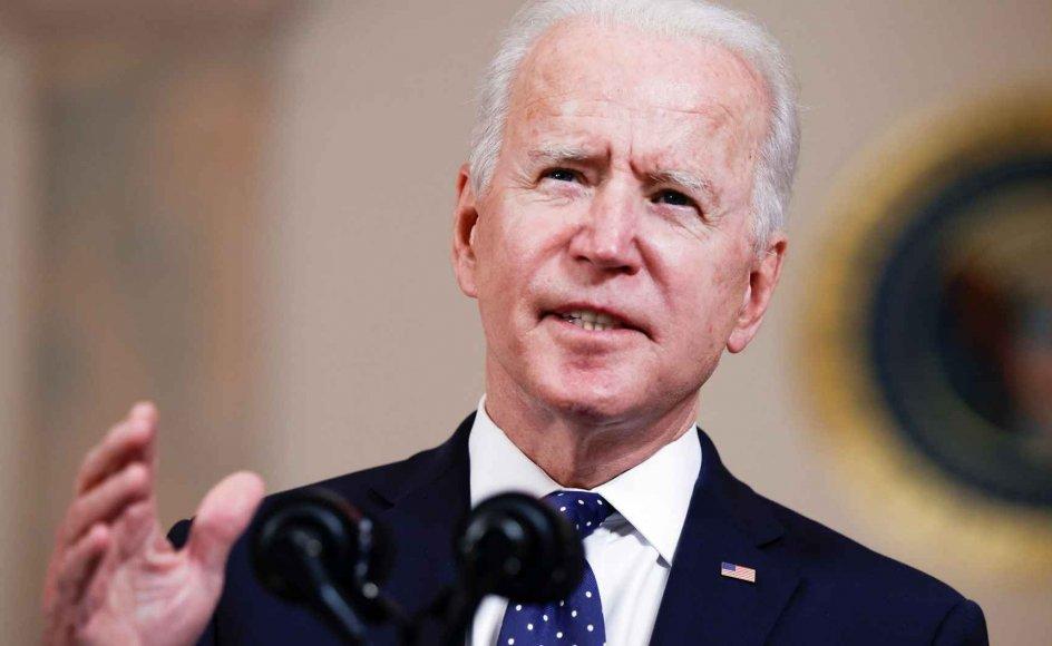 """Måske får Biden flammeskriften at føle fra egne rækker inden længe, for den ideologiske venstrefløj i hans parti har netop en nærmest religiøs og uforsonlig """"dem eller os""""-tilgang til identitetspolitikken. ."""