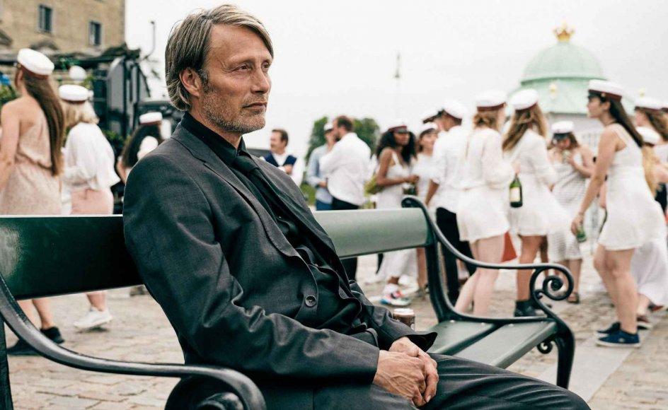 """Filmen """"Druk"""" med Mads Mikkelsen i hovedrollen er måske blevet en succes, fordi instruktøren bevæger sig lige ind i et nationalt tabuområde, skriver lektor. – Foto: Henrik Ohsten."""