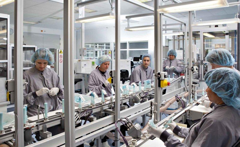 Coloplasts salg er ramt af, at der er kommer færre nye patienter til behandling i Europa på grund af coronaudbruddet. (Arkivfoto)