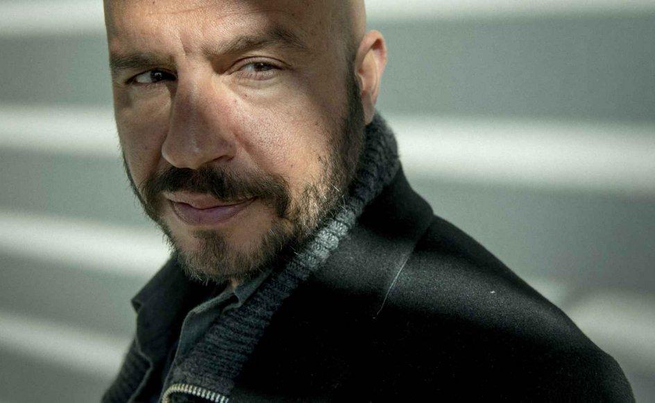"""Skuespiller Dar Salim spiller en af hovedrollerne i filmen """"Kærlighed for voksne"""", som er den første dansksprogede Netflix-film. den får premiere direkte på streamingtjenesten i 2022. (Arkivfoto)"""