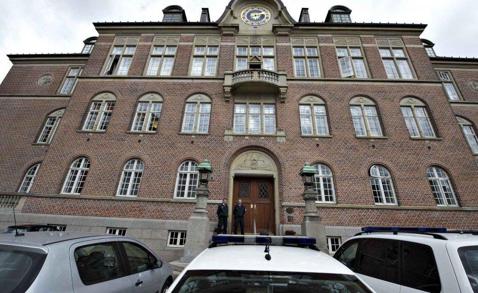 Retten i Aarhus dømte torsdag en 38-årig mand for drab på sin 66-årige mor sidste sommer. Drabet skete i forældrenes hus. (Arkivfoto).