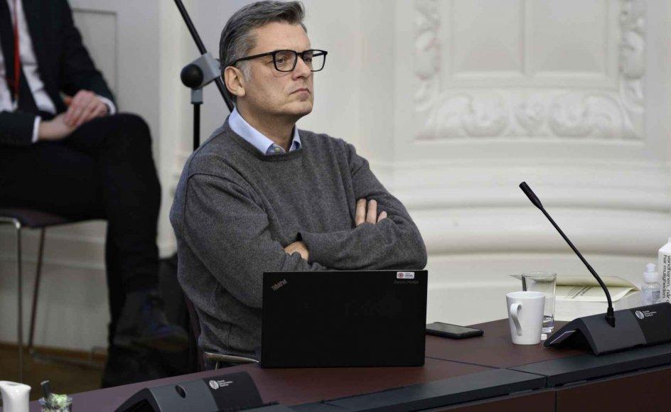 Jan E. Jørgensen (V) siger til Jyllands-Posten, at man ikke kan støtte regeringens forslag om tryghedsskabende opholdsforbud. (Arkivfoto)