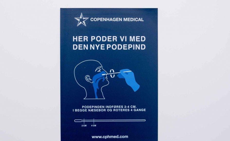 Det er Region Hovedstaden, der har bedt testudbyderen om at lukke sin drive-in-del. Og det har altså fået Copenhagen Medical til at lukke stedet helt. (Arkivfoto).