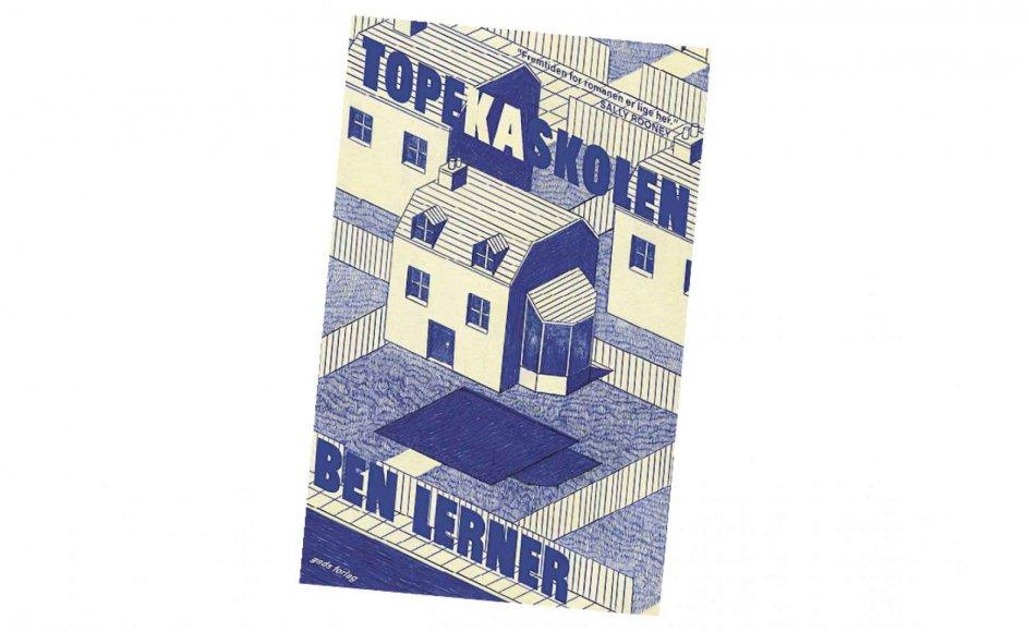 """""""Topekaskolen"""" af forfatter Ben Lerner - udgivet på Gads Forlag - beskriver på flot vis spillet mellem tildækning og afsløring i den maskuline identitet."""