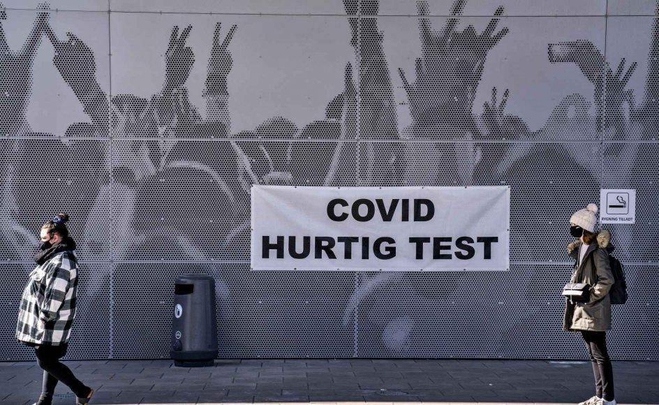 Der testes løs i hele Danmark for tiden. (Arkivfoto)