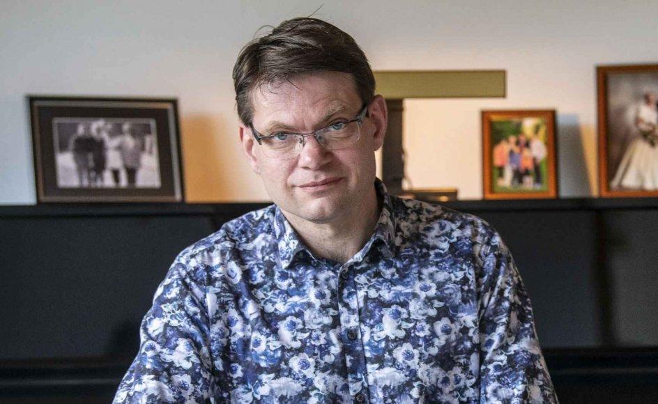 Bjarne Christensen skiftede fra en bank til et missionsselskab, da han begyndte at tænke nyt om at samle penge sammen. – Foto: Jens Bach.