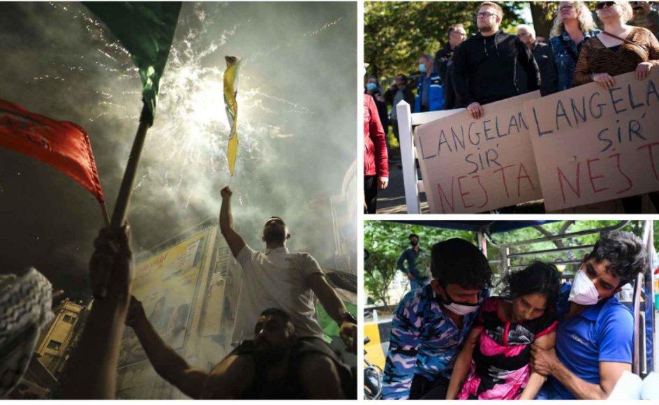 Mohammed Abed / Money Sharma / AFP / Tim Kildeborg Jensen / Ritzau Scanpix.