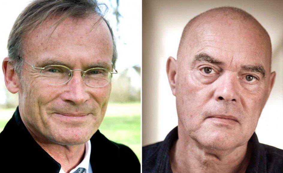 """""""Mit ærinde er ikke at holde hånden over Flemming Pless. Men hans sag er et eksempel på vores krænkelsestid,"""" skriver Poul Joachim Stender (tv.)."""