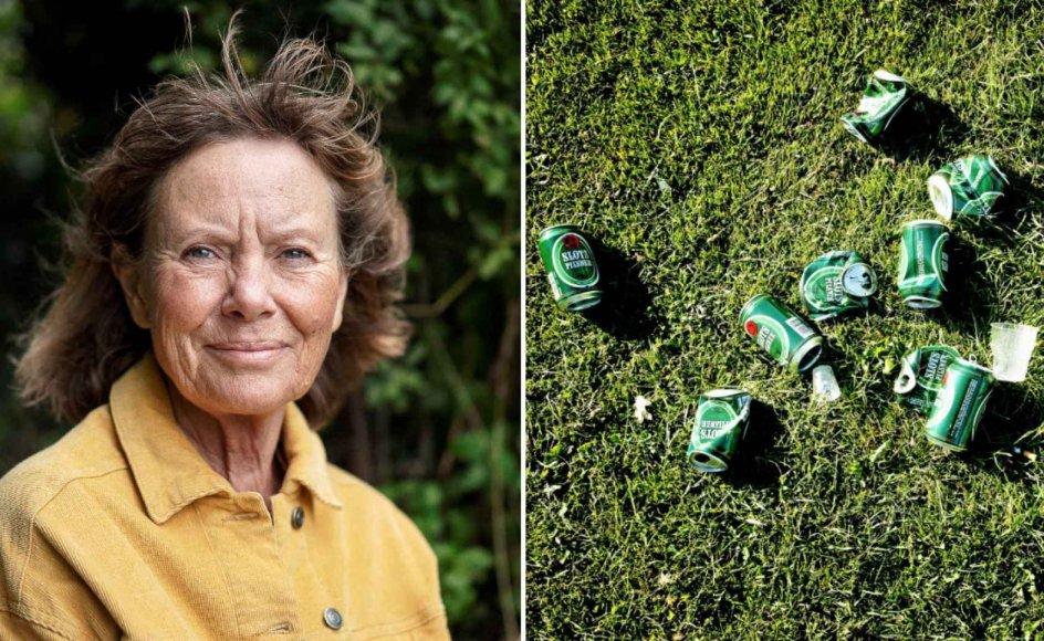 Unge efterlader flasker og dåser, når de har festet på stranden eller i parken. Men det har aldrig været værre eller bedre, mener Lola Jensen, som foreslår en ordning, hvor 6. klasserne rydder op i lokalområdet i weekenden.
