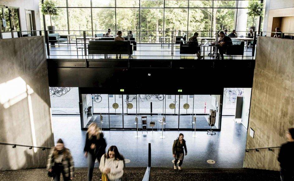 """Studerende er ikke én enhed. De er forskellige, og derfor bør vi styre os,  når vi taler om, hvad """"ungdommen"""" er og skal, skriver Lene Tanggaard. Her ses studerende på Syddansk Universitet i Odense."""