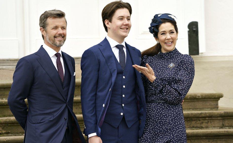 Prins Christian blev konfirmeret 15. maj. På søndag deltager han sammen med dronningen og kronprinsen i markeringen af 100-året for Sønderjyllands genforening med resten af Danmark.