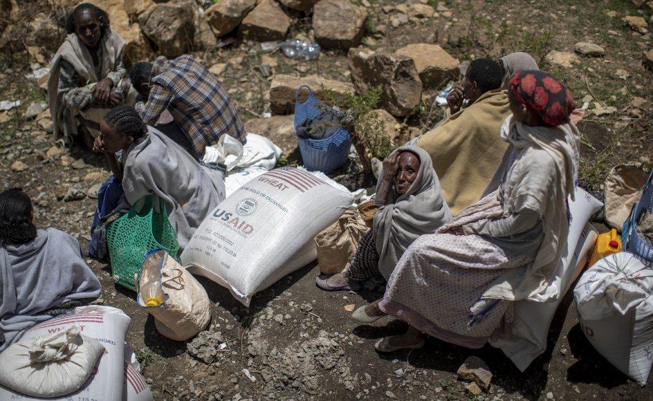 Ifølge FN har en konflikt i Tigray-regionen ført til den værste fødevarekrise i et årti. (Arkivfoto)