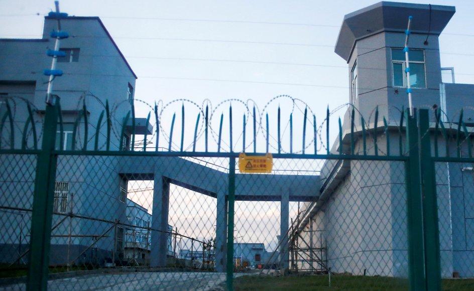 Hundredtusindvis af uighur-muslimer bliver ifølge Amnesty International udsat for tortur, tæsk og forfølgelse i Kinas såkaldte genopdragelseslejre i provinsen Xinjiang. (Arkivfoto)