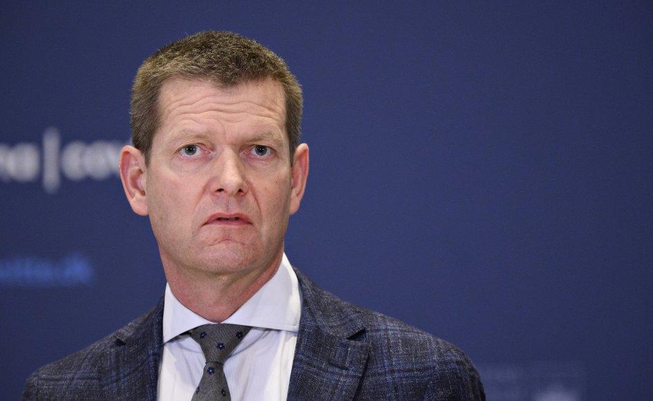 Mandag vil Sundhedsstyrelsens direktør, Søren Brostrøm, være til stede i Tingbjerg i København vaccinere borgere, der kommer forbi. (Arkivfoto)