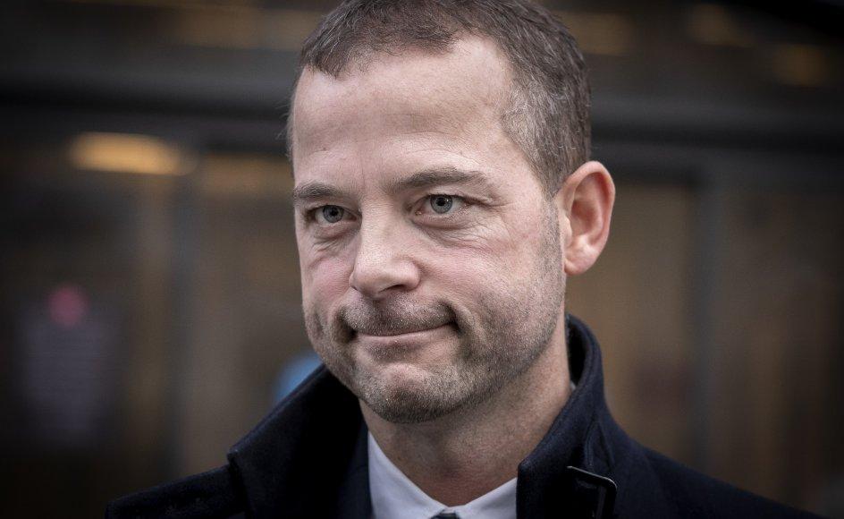 Morten Østergaard trækker sig definitivt fra politik. (Arkivfoto)