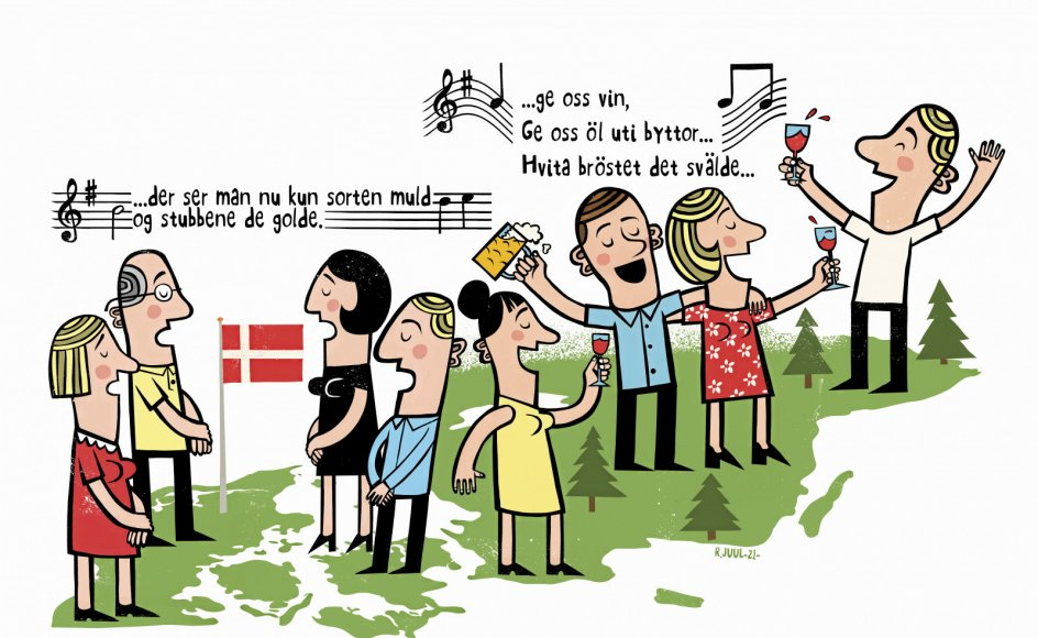 Tegning: Rasmus Juul