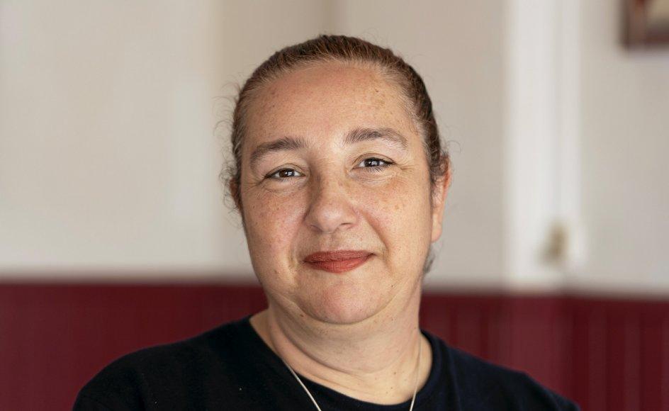 """""""Jeg har oplevet, hvad der kan ske, når muslimer bruger Koranen som undskyldning for at gå i krig. Jeg kan godt snakke høfligt med muslimer her i Danmark, men jeg stoler aldrig 100 procent på dem,"""" siger Mariam Eid."""
