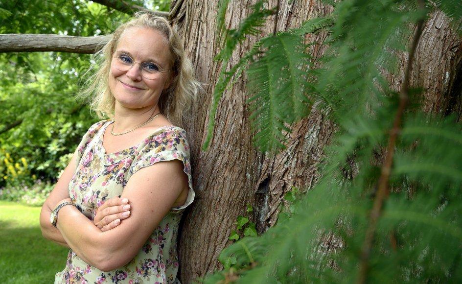 Charlotte Dyremose hadede som barn at sidde ved børnebord. Hun ville være med i diskussionen.